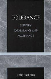 Tolerance: Between Forbearance and Acceptance