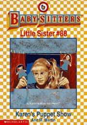 image of Karen's Puppet Show (The Baby-Sitters Club Little Sister)