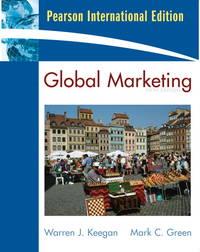 image of Global Marketing (International Edition)