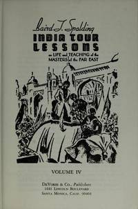 Life and Teaching of the Masters of the Far East, Vol. III.