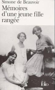 Memoires D'une Jeune Fille Rangee (Folio Ser.: No.786) (French Edition)