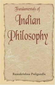 Fundamentals of Indian Philosophy