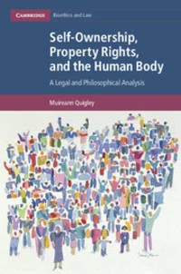Self-Ownership, Property Rights, and the Human Body: A Legal and Philosophical Analysis...