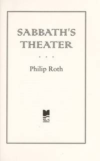 image of Sabbath's Theater [Hardcover]