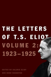 Letters Of Ts Eliot