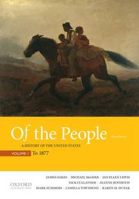 Of the People: A History of the United States, Volume 1: To 1877 by   Cullather - Paperback - from Better World Books  (SKU: 17172009-6)