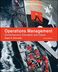 image of Operations Management : Contemporary Concepts and Cases