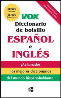 Vox Diccionario De Bolsillo EspaOl Y InglS