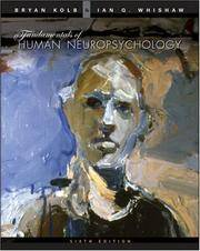 Fundamentals of Human Neuropsychology by  Ian Q  Bryan; Whishaw - Hardcover - from SGS Trading Inc and Biblio.com
