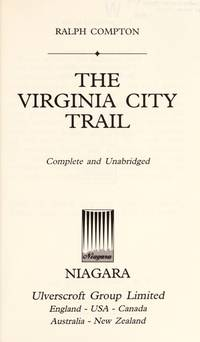 image of Virginia City Trail (Trail Drive (Large Print))