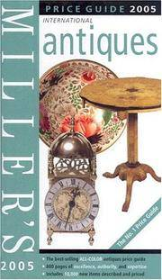 Miller's Antiques : Price Guide 2005 International, Volume XXV