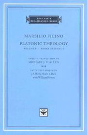 Platonic Theology, Volume 6, Books XVII-XVIII by Marsilio Ficino - First Edition Thus - 2006 - from art longwood books and Biblio.co.uk