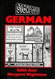 Signposts: German