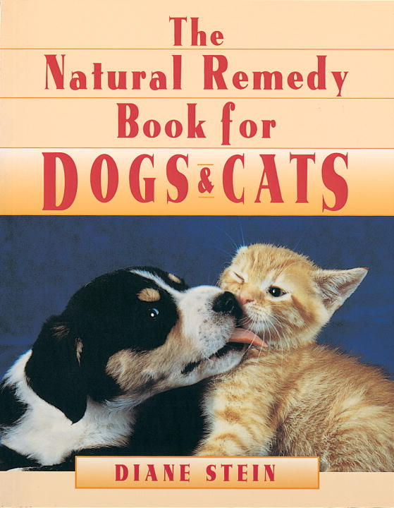 Natural Remedy Book For Dogs And Cats