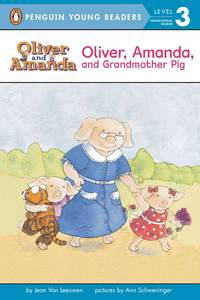 Oliver, Amanda, and Grandmother Pig