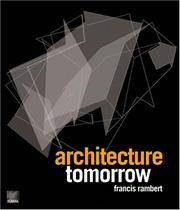 Architecture Tomorrow