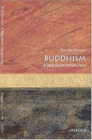 Buddhism a Very Short Introduction by  Damien Keown - Paperback - Later Printing - 2000 - from after-words bookstore and Biblio.com