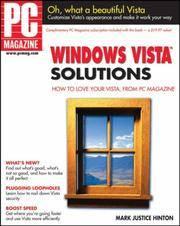 PC Magazine Windows Vista Solutions (PC Magazine)