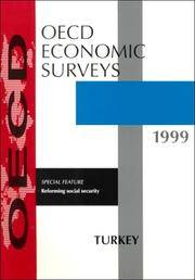 Oecd Economic Surveys: Turkey 1998/1999 Issue 15 by Oecd - Paperback - 1999 - from Anybook Ltd and Biblio.com
