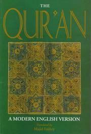 The Qur'an: A Modern English Version