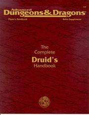 Advanced Dungeons & Dragons The Complete Druid's Handbook