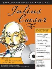 Julius Caesar  (The Sourcebooks Shakespeare) Plus 30 Classic Scenes on Audio CD