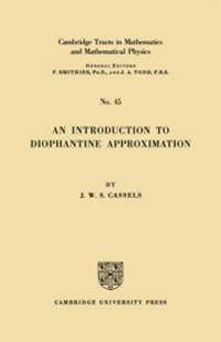An Introduction to Diophantine Approximation.