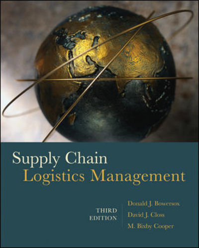 9780073377872 Supply Chain Logistics Management By Donald Bowersox