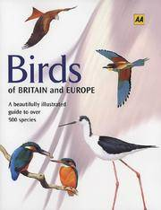 AA Birds of Britain and Europe (AA Illustrated Reference Books)