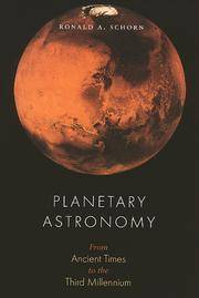 Planetary Astronomy: From Ancient Times to the Third Millennium