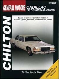 GM Cadillac, 1967-89 (Chilton Total Car Care Series Manuals) by Chilton - Paperback - 1994-12-01 - from Cronus Books, LLC. (SKU: SKU1028445)