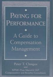 Paying for Performance: A Guide to Compensation Management
