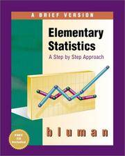image of Elementary Statistics: A Brief Version with Data CD-ROM