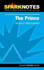 image of The Prince (SparkNotes Literature Guide) (SparkNotes Philosophy Guide)