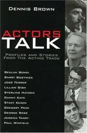 Actors Talk