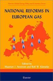 National Reforms in European Gas (Elsevier Global Energy Policy and Economics Series)
