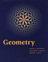 geometry brannan david a esplen matthew f gray jeremy j