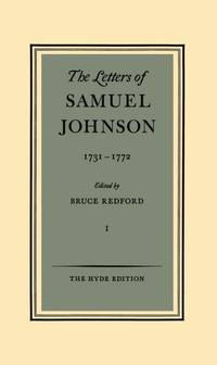 The Letters Of Samuel Johnson