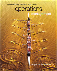 image of Operations Management : Contemporary Concepts