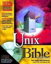 UNIX Bible (With CD-ROMs)