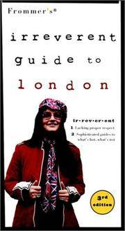 FROMMER'S IRREVERENT GUIDE TO LONDON (3rd Edition)