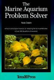 The Marine Aquarium Problem Solver