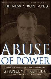 image of Abuse of Power: The New Nixon Tapes