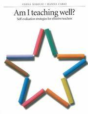Am I Teaching Well?: Self-Evaluation Strategies for Effective Teachers