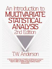 An Introduction to Multivariate Statistical Analysis, 2nd Edition