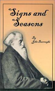 image of Signs and Seasons