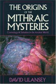 the origins of the mithraic mysteries.  cosmology and salvation in the ancient world.