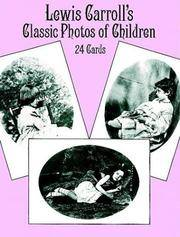 Lewis Carroll's Classic Photos of Children: 24 Cards (Card Books)