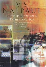 Letters between a father and son: Early correspondence between V.S.Naipaul and family