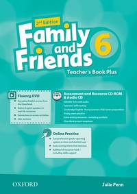 Family And Friends: Level 6: Teacher's Book Plus - Used Books